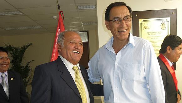 Martín Vizcarra acusa de ser imparcial al gobernador de Moquegua