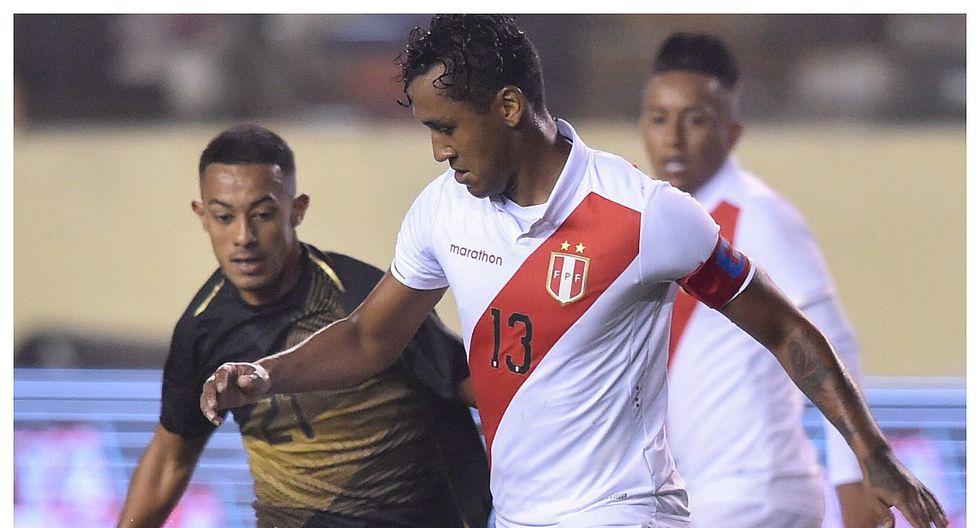 Perú vs Costa Rica: Renato Tapia salió como capitán en el amistoso ante los 'ticos'