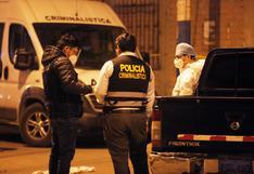 San Martín de Porres: Sicarios asesinaron a presunto integrante de la banda criminal 'Los injertos de Cara Cortada'