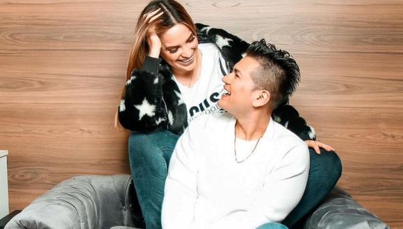 Cassandra Sánchez dedica romántico mensaje a su novio Deyvis Orosco. (Foto: Instagram / @casemaze)