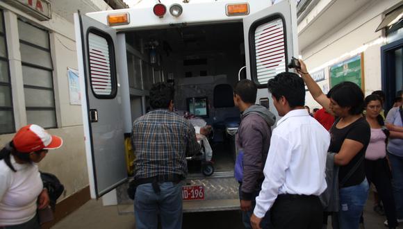 Ladrón quemado en Huamalíes fue evacuado a Lima