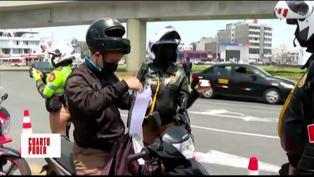 Conductores de motos confiesan ante policía que obtienen su brevete sin realizar ningún examen (VIDEO)
