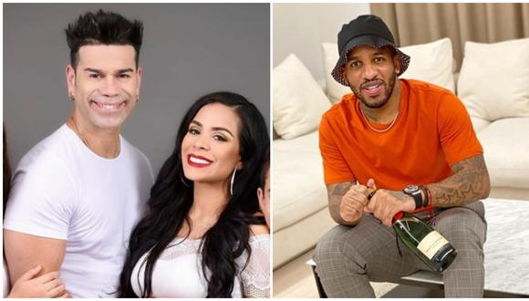 'Tomate' Barraza revela que Jefferson Farfán coqueteó a su esposa Vanessa López. (Fotos: Instagram)