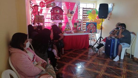 Policía interviene a doce personas en fiesta infantil en Ica