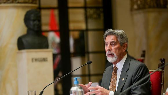 El presidente Francisco Sagasti dará a conocer nuevas medidas ante la segunda ola de COVID-19 (Foto: Presidencia)