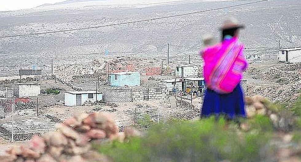 Cajamarca y Huancavelica fueron las regiones más pobres del país en el 2016