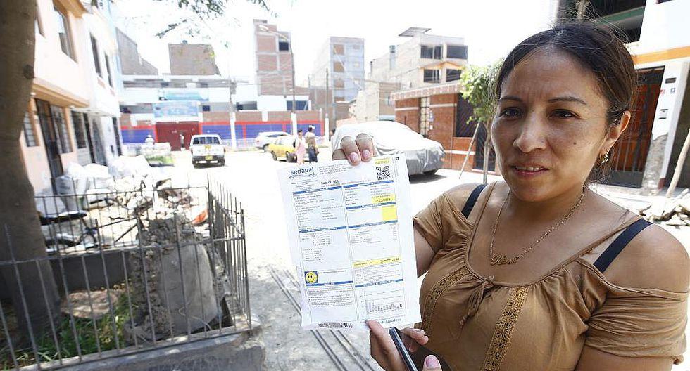 San Juan de Lurigancho: Sedapal anulará cobro de recibo de enero a 241 damnificados por aniego