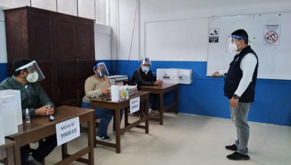 La ONPE inició la capacitación a personeros de las organizaciones políticas que participarán en las Elecciones Generales 2021. (Foto: ONPE)