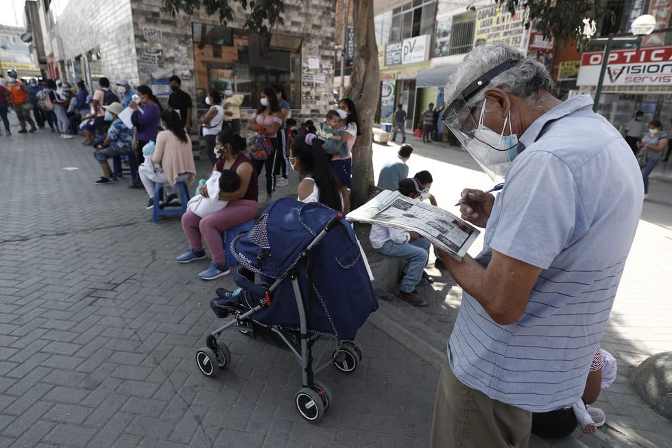 El bono de 600 soles empezará a entregarse a partir de hoy al primer grupo de beneficiarios. (Foto: César Campos / @photo.gec)