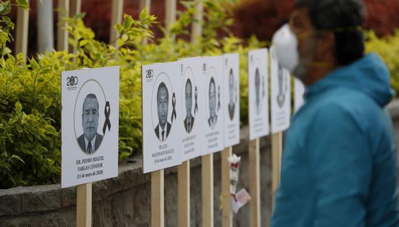 Minsa nueva cifra de fallecidos por covid-19. Foto: EFE/Paolo Aguilar