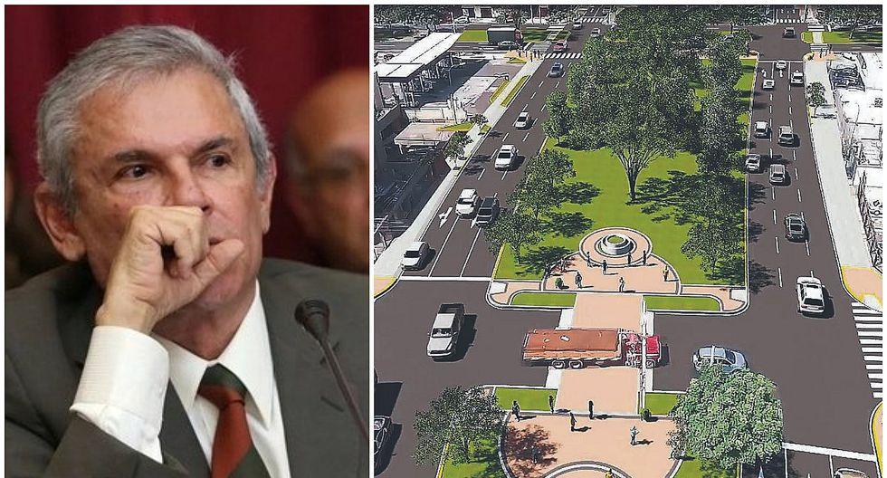 PJ ordena a Castañeda no ejecutar obras en avenidas Aramburú y Parque Sur
