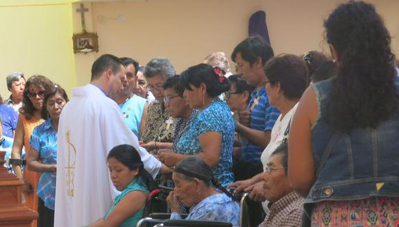 Semana Santa: Ofician misa de sanación para enfermos