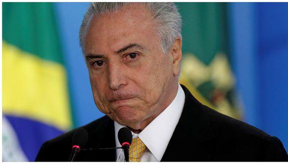 Solo el 10% de brasileños aprueba el gobierno de Temer