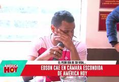 Giselo lloró tras ser víctima de cámara escondida cuando comía en un chifa por su cumpleaños (VIDEO)