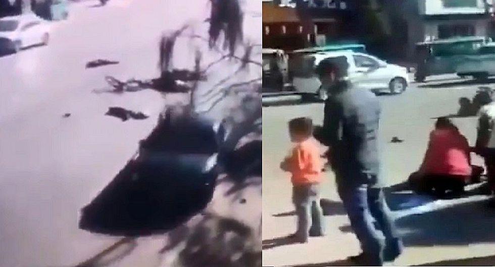 China: Cinco niños muertos y 19 heridos en atropello (VIDEOS)