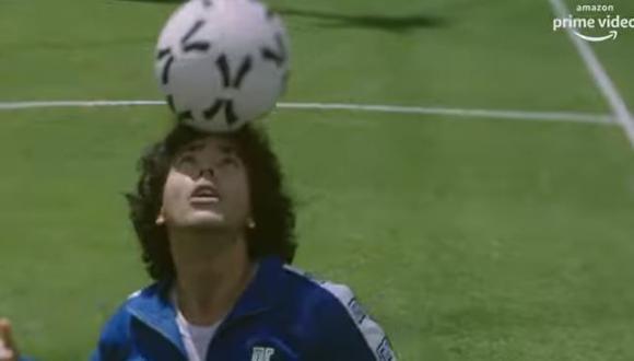 """""""Maradona: Sueño Bendito"""": Amazon Prime lanzó el primer adelanto de la serie basada en el astro del fútbol. (Foto: captura de video de YouTube)"""