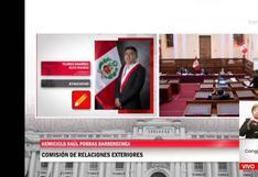 """Congresista dice """"por Dios"""" cuando escucha a Alex Flores de Perú Libre decir que en Venezuela """"hay democracia"""""""