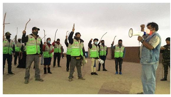 "Integrantes de las rondas ""Cahuides en Acción"" lograron ubicar a dos niños que habían sido reportados como desaparecidos en este centro poblado. (Foto: Cortesía)"