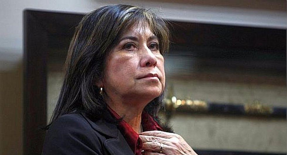 Martha Chávez (Foto: Archivo Correo)