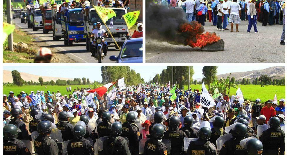Arequipa: Paro en contra de Tía María se radicaliza hoy
