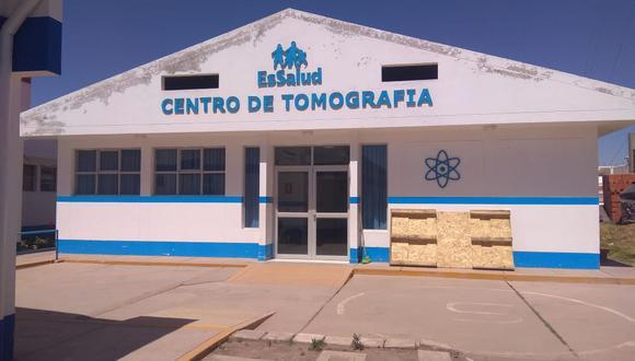 centro Tomográfico se encuentra actualmente cerrado. (Foto: Difusión)