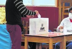 Más del 28% de electores hábiles en Junín no llegaron a las urnas