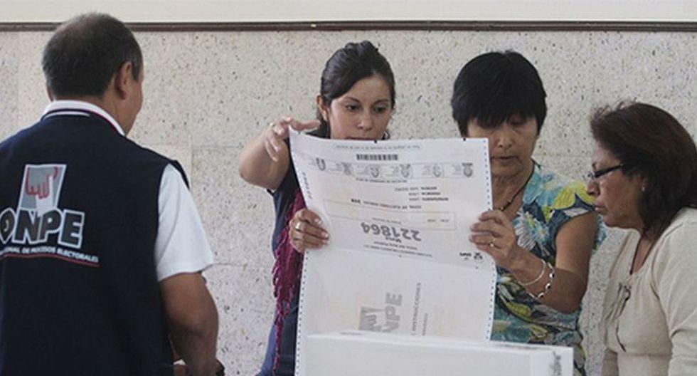 Con el propósito de que este acto se desarrolle de la mejor manera, la Oficina Nacional de Procesos Electorales (ONPE) desarrolla una serie de capacitaciones a nivel nacional. (Foto: Andina)