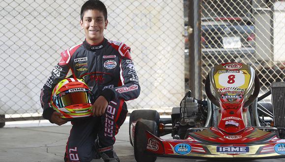 Kartista peruano Matías Zagazeta competirá en el X30 Euro Series de Bélgica