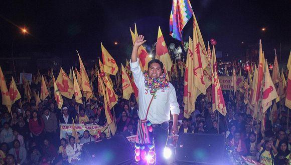 Juan Tonconi Quispe es el virtual gobernador de Tacna
