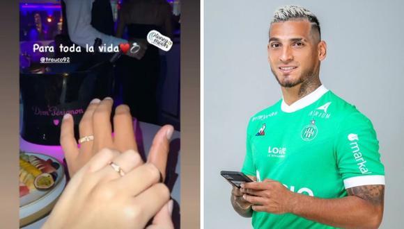 Miguel Trauco comparte curioso video al lado de su pareja Mariela Arévalo. (Foto: Instagram @trauco92)