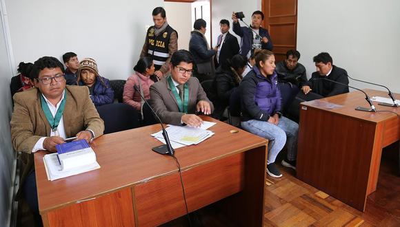 Dictan prisión preventiva para pareja de presuntos asaltantes en Cusco