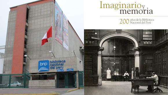"""La Biblioteca Nacional del Perú contará detalles de sus 200 años en el libro """"Imaginario y Memoria"""". (Foto: Facebook de la BNP)"""