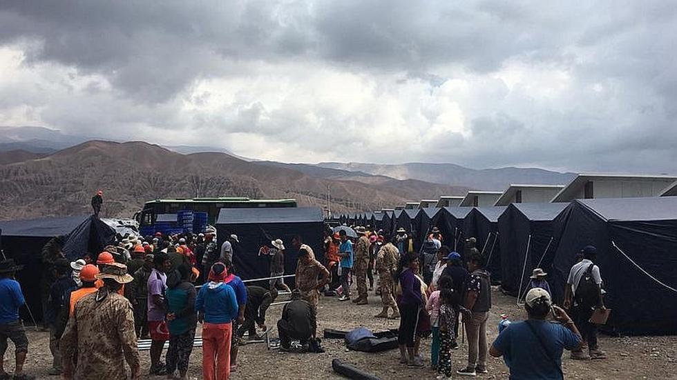 Reportan 24 heridos por huaico en Mirave