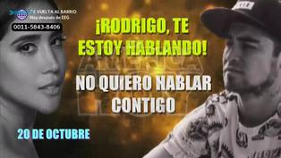 Melissa Paredes difunde audio EN VIVO que confirmaría el fin de su relación con Rodrigo Cuba
