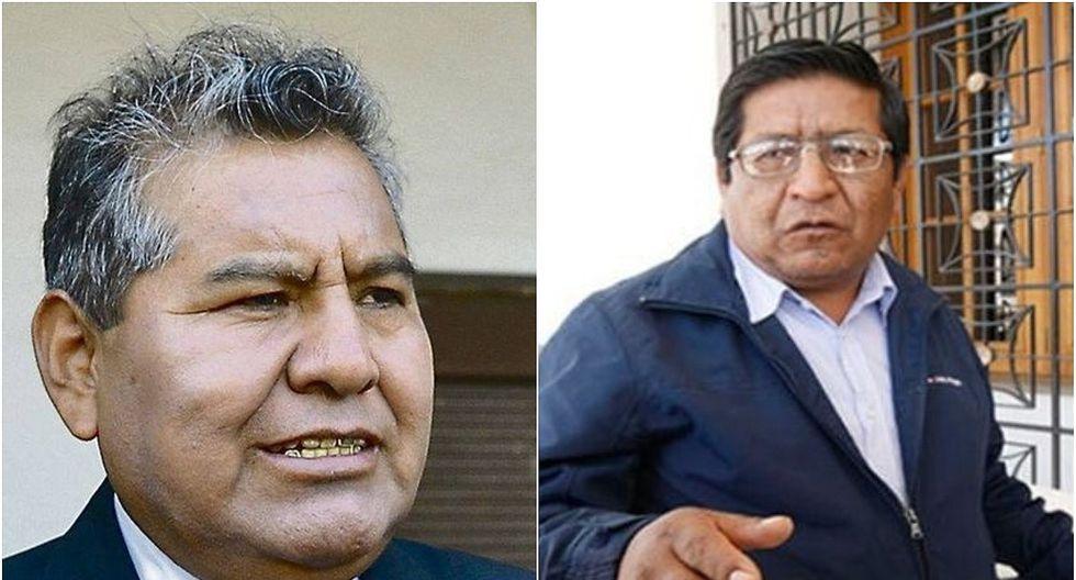 Ratifican suspensión a los regidores de Arequipa Pedro Quispe y Willy Jano