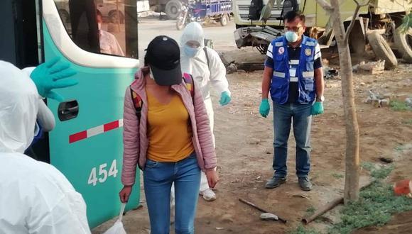 Viajeros que dieron positivo a COVID – 19 permanecerán en Chincha