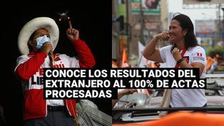Conoce los resultados al 100% de actas procesadas provenientes del extranjero
