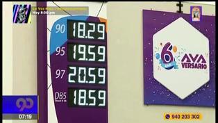 Reportan que precio de la gasolina sigue en alza y supera los 20 soles (VIDEO)