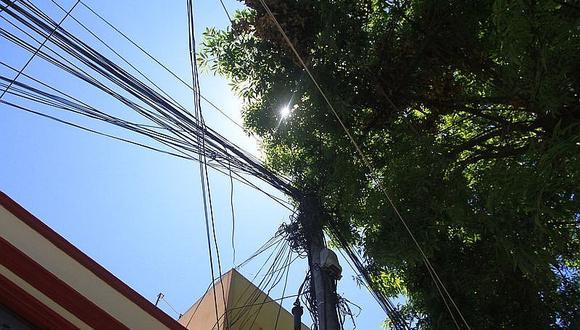 Dan 4 años de plazo para retirar el cableado aéreo del Centro Histórico