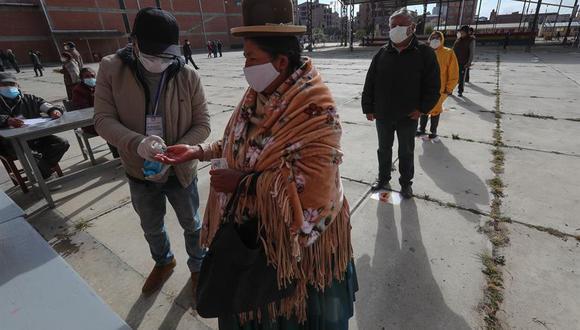 Los recintos electorales en Bolivia comenzaron a cerrar a las 17:00 hora local. (AFP).