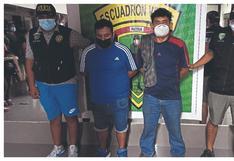 Tumbes: Capturan a dos sujetos por presunto delito de tráfico de migrantes