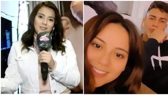 Amy Gutiérrez confirmó su relación con bailarín de Daniela Darcourt. (Foto: América TV/Instagram)