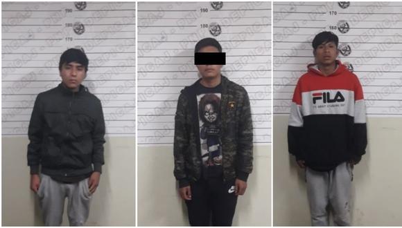 Arrebataron su bolso a un mujer e intentaron darse a la fuga, pero fueron reducidos por serenazgo y efectivos policiales. Entre los intervenidos hay un menor de edad.