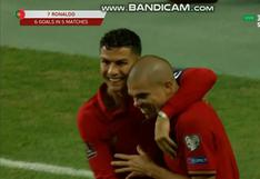 Cerca de un nuevo récord: Cristiano Ronaldo marcó triplete en el  duelo de Portugal vs. Luxemburgo (VIDEO)