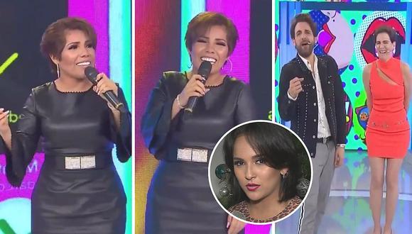 Susan Ochoa intenta cantar tema de Daniela Darcourt en vivo, pero no se sabe la letra (VIDEO)