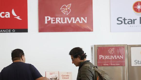 El trámite para adquirir la condición de acreedor oportuno y solicitar el reembolso a Peruvian Airlines será gratuito. (Foto: Eduardo Cavero / GEC)