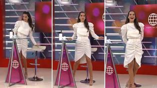 Valeria Piazza es sorprendida en vivo cuando grababa Tiktok