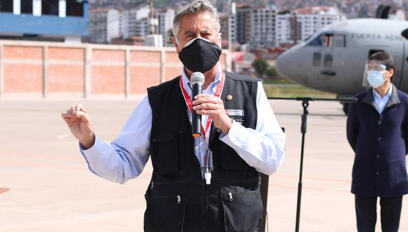 Ejecutivo ya prepara documentación para transición de gobierno, anuncia Sagasti. (Foto: Juan Sequeiros)