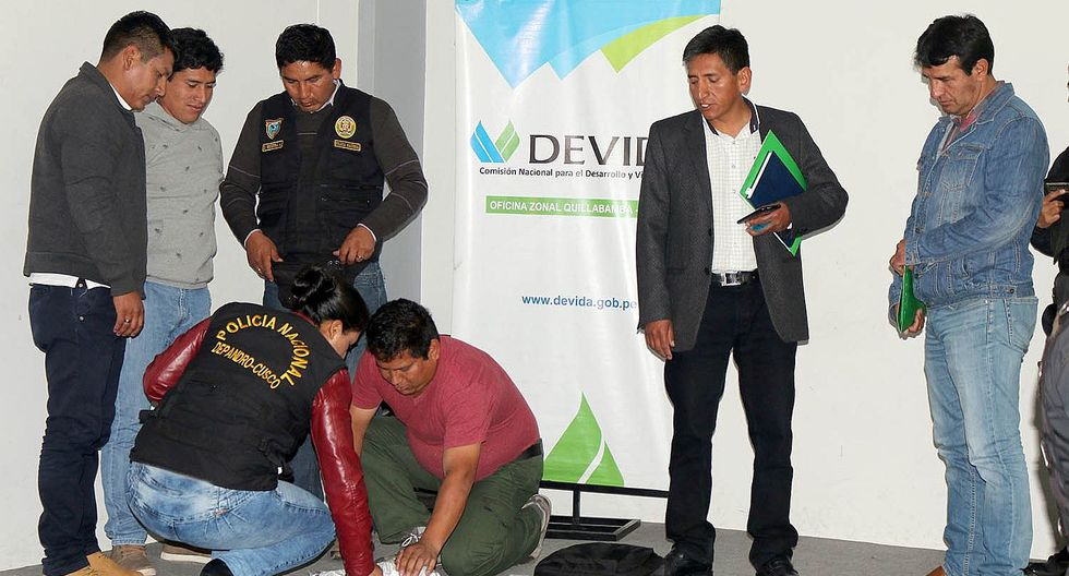 Promueven unidad de criterios para combatir el tráfico de drogas en Cusco