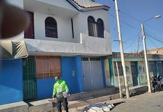Policías de Homicidios de la Divincri Arequipa investigan la muerte de dos varones